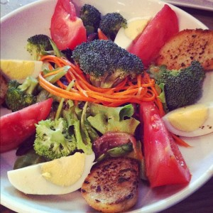 CO Vietnames Restaurant Charleston Chopped Vegetable Salad