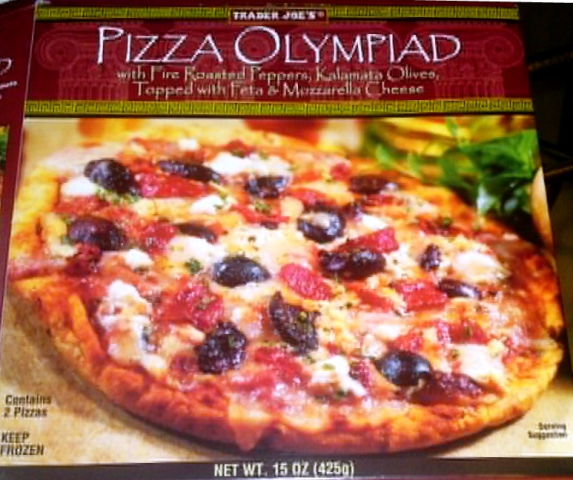 Trader Joe's Olympiad Pizza